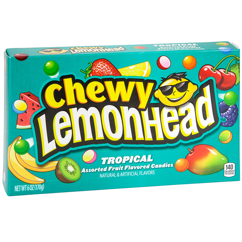 Chewy Lemonhead Tropical (142g)-0