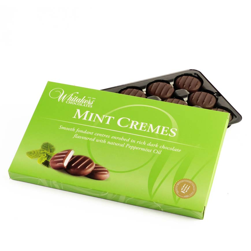Whitakers Dark Chocolate Mint Creams (150g)-8634