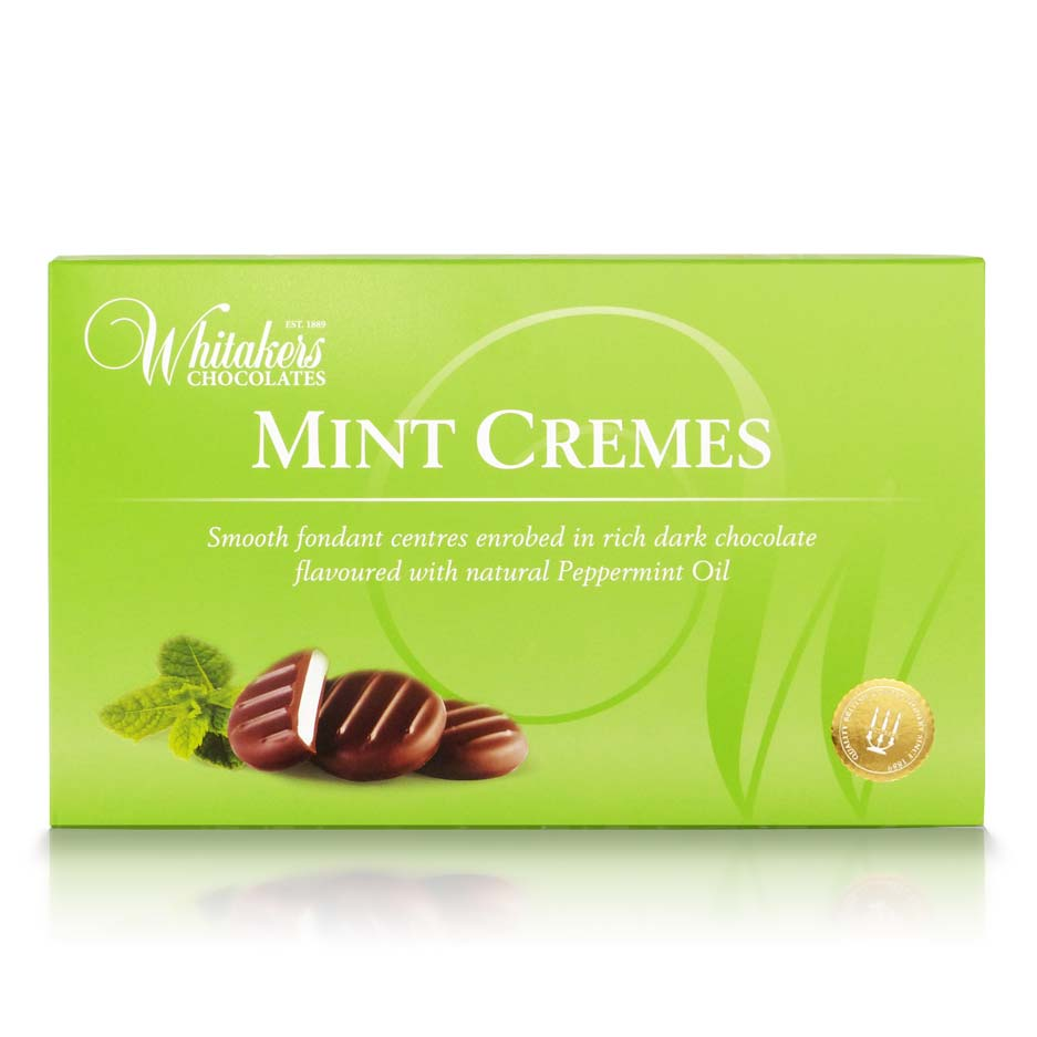 Whitakers Dark Chocolate Mint Creams (150g)-0