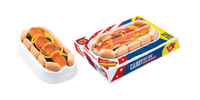 LOOK O LOOK - 100% TASTY CANDY HOT DOG (100G)-0