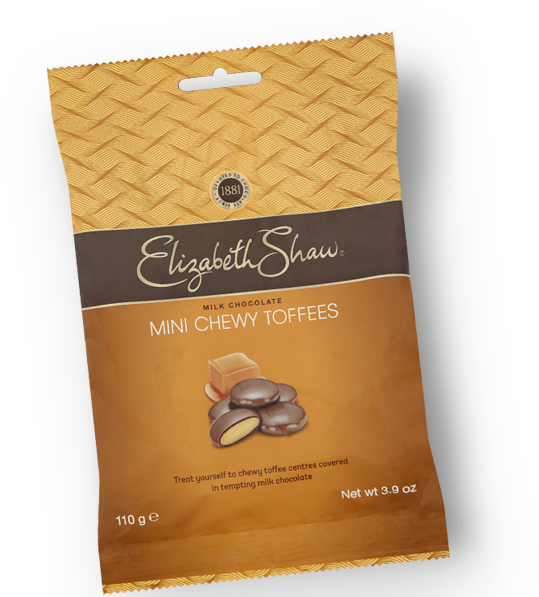 ELIZABETH SHAW MILK CHOCOLATE MINI CHEWY TOFFEES (110G)-0