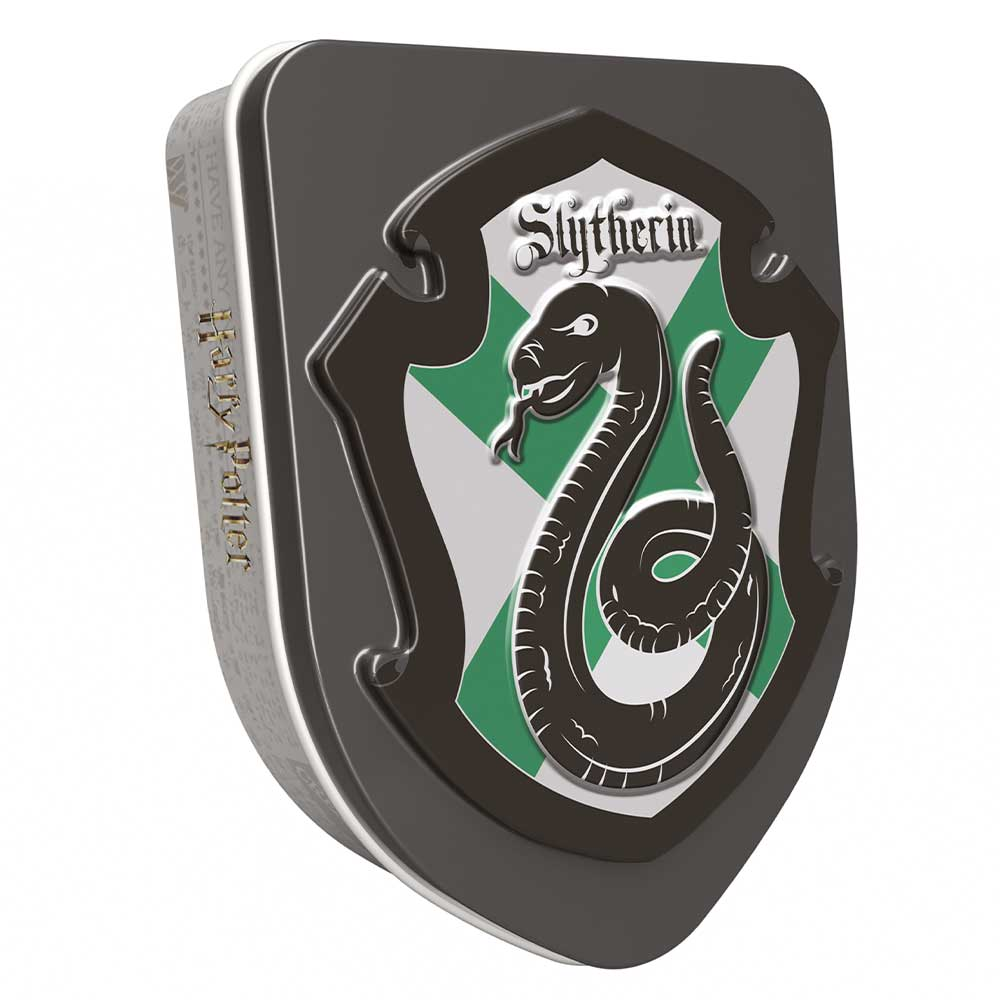 HARRY POTTER SLYTHERIN CREST TIN - APPLE JELLY BEAN (28G)-0