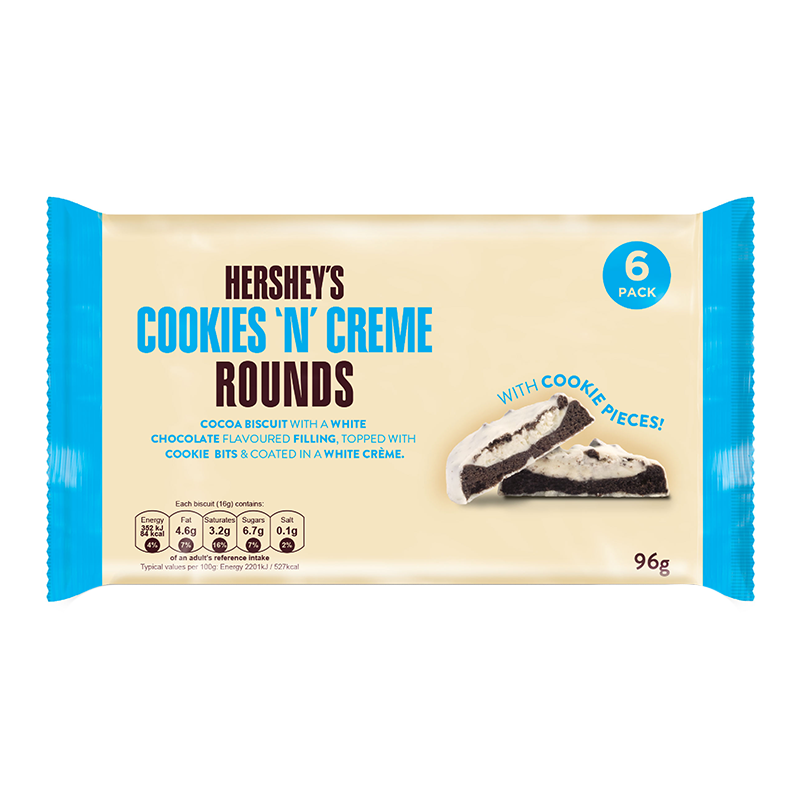 HERSHEY'S COOKIE 'N' CREME ROUNDS (96G)-0