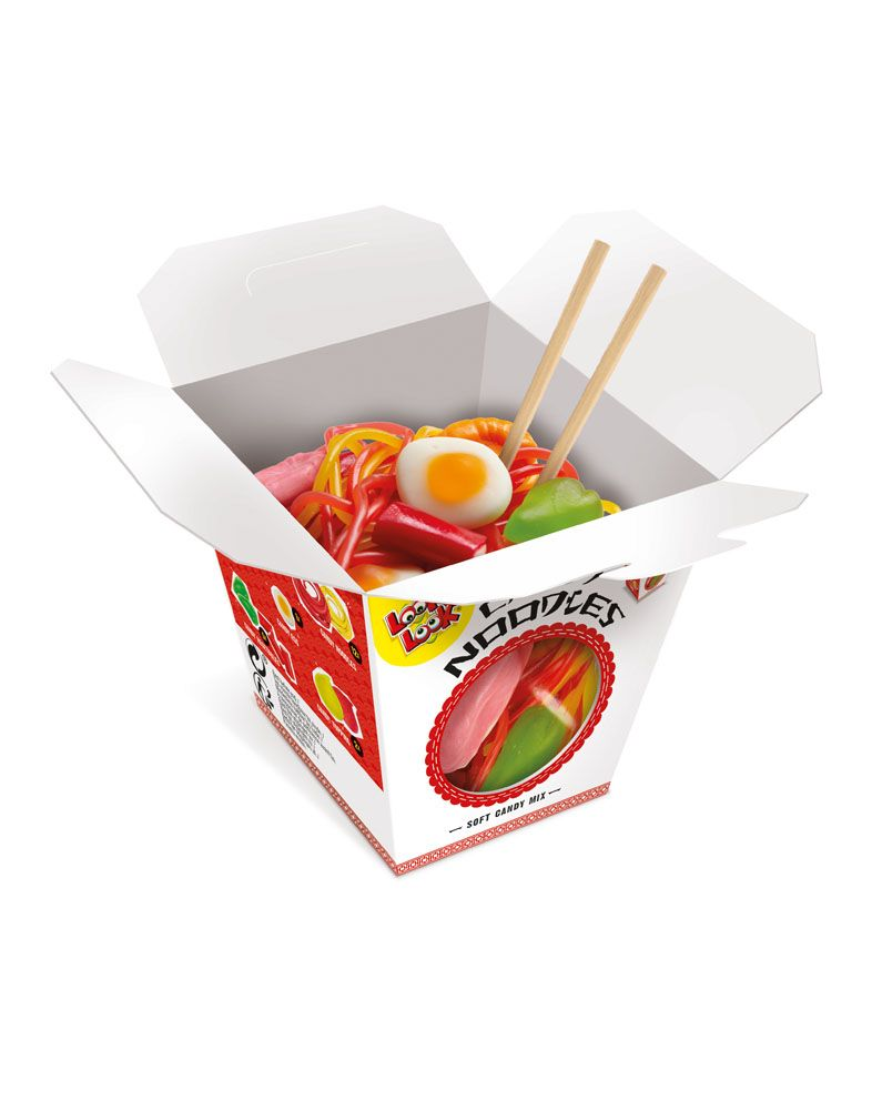 LOOK O LOOK - 100% TASTY CANDY NOODLES (110G)-0