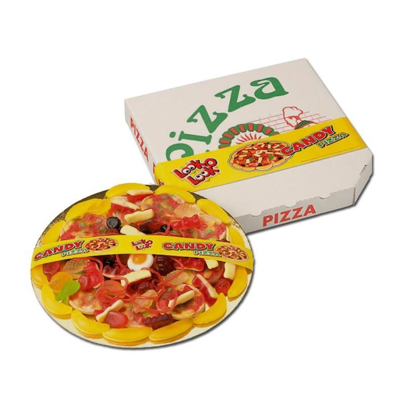 LOOK O LOOK - 100% TASTY CANDY PIZZA (435G)-0