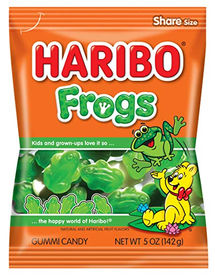 Haribo Frogs (142g)-0
