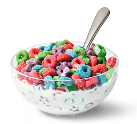 KELLOGG'S Froot Loops Wild Berry (286g)-8938
