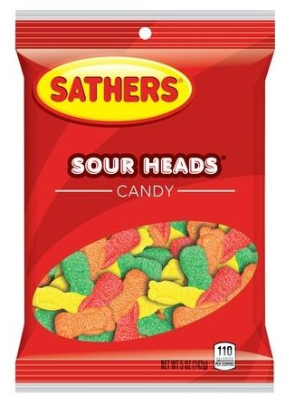 SATHERS SOUR HEADS (85G)-0