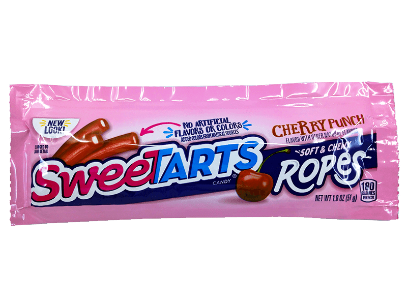 Sweetarts ROPES CHERRY PUNCH (51G)-0