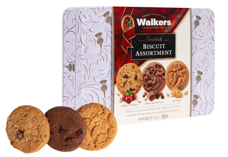 Walkers Scottish Biscuit Assortment (300g)-9313