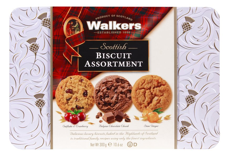 Walkers Scottish Biscuit Assortment (300g)-0