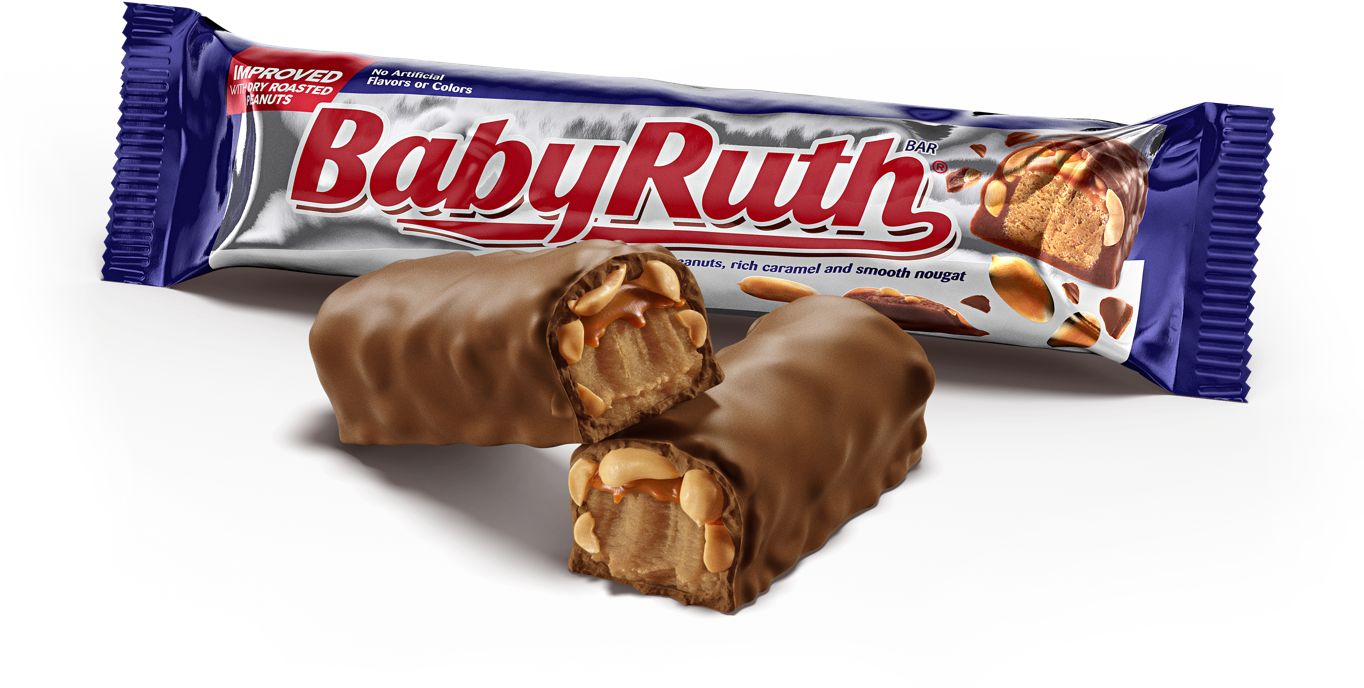 Baby Ruth Dry Roasted Peanuts (53g)-9503