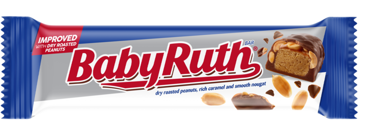 Baby Ruth Dry Roasted Peanuts (53g)-0