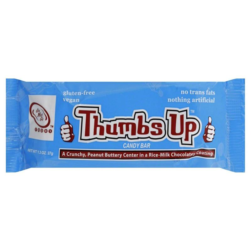 go max go Thumbs Up Vegan Candy Bar (37g)-0