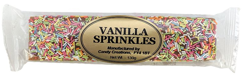 VANILLA SPRINKLES FUDGE (130G)-0