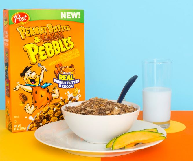 Post Peanut Butter & Cocoa Pebbles Cereal (311g)-9437