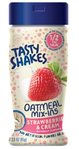 Tasty Shakes Oatmeal Mix-ins Strawberry And Cream (85g)-0