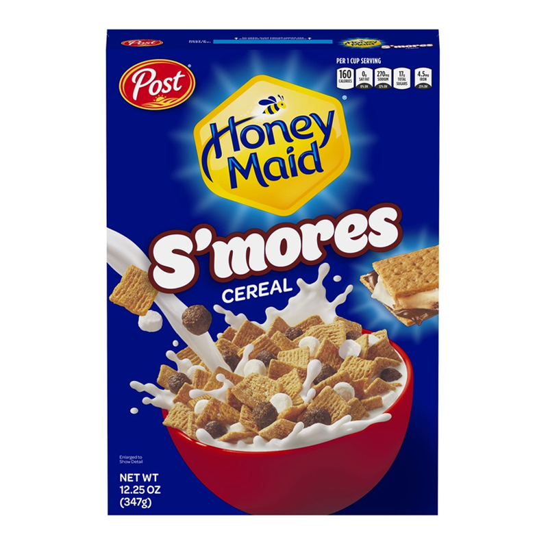 Post Honey Maid S'mores Cereal (347g)-0