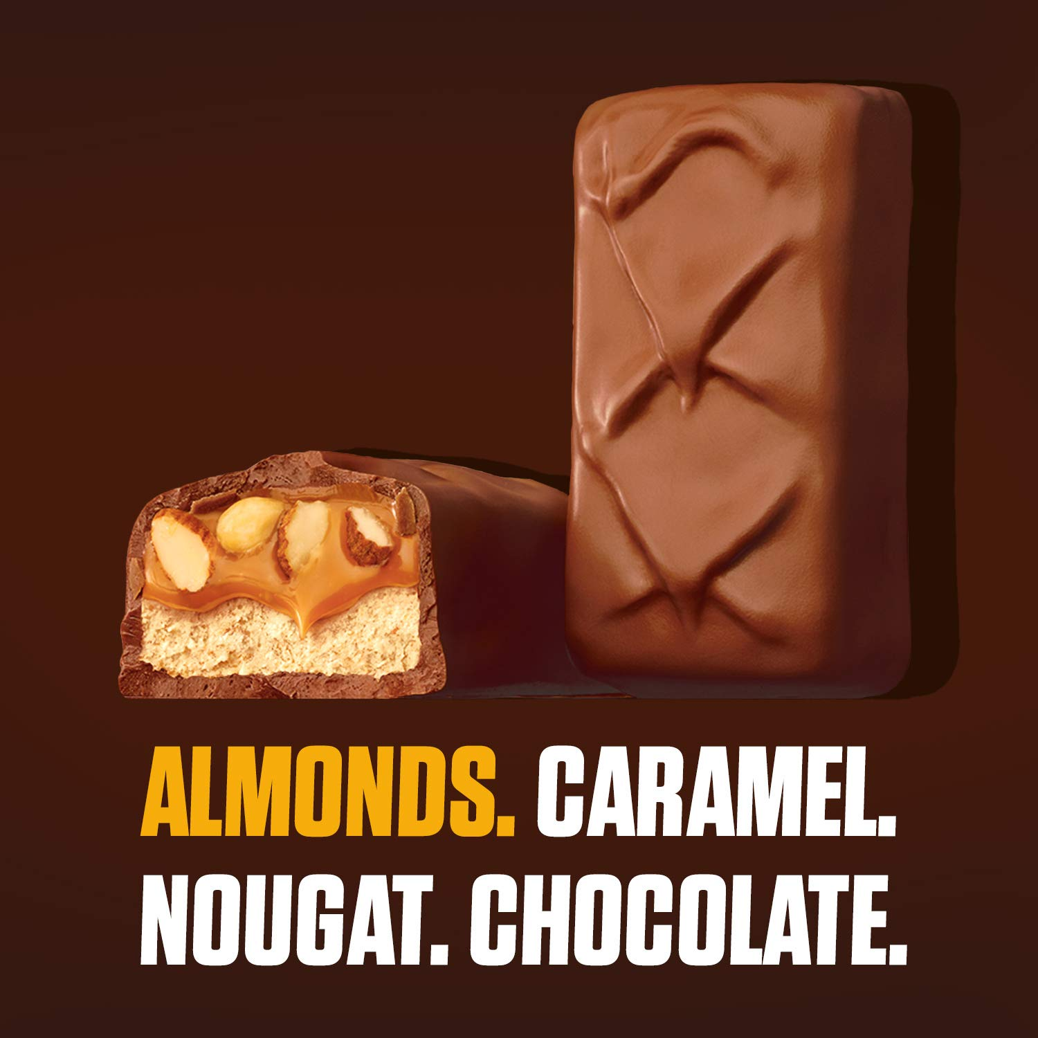 Snickers Almond 2 Bars (91g)-9771
