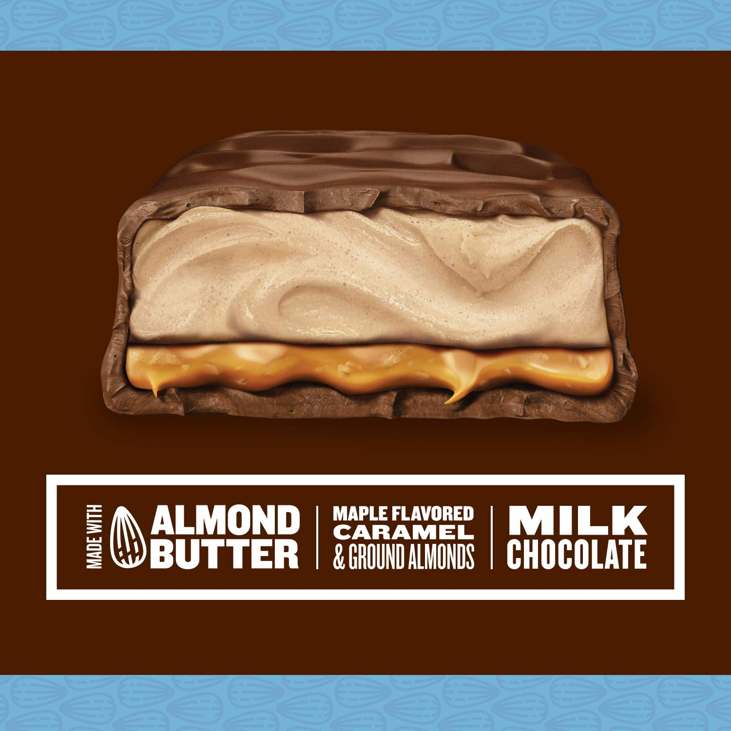 Snickers Creamy Maple Almond Butter 4 Squares (79g)-9801