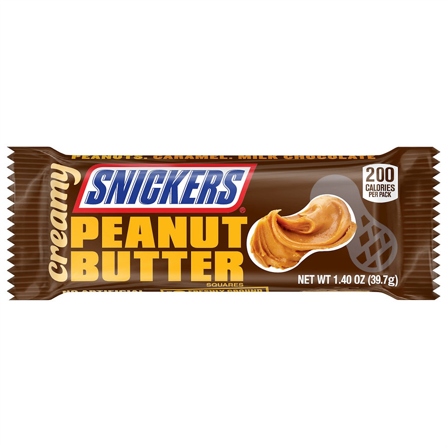 Snickers Creamy Creamy Peanut Butter (39g)-0