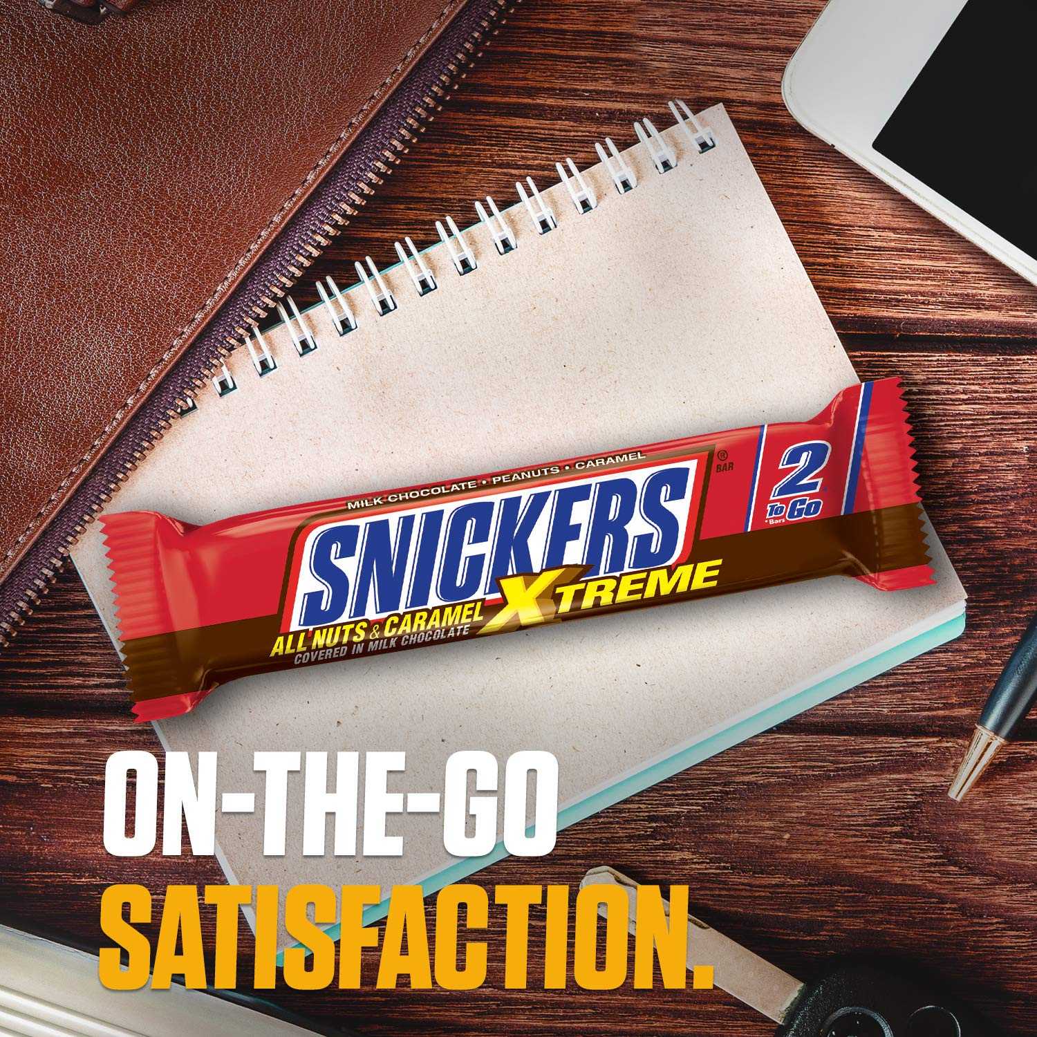 Snickers Xtreme 2 Bars (101g)-9796