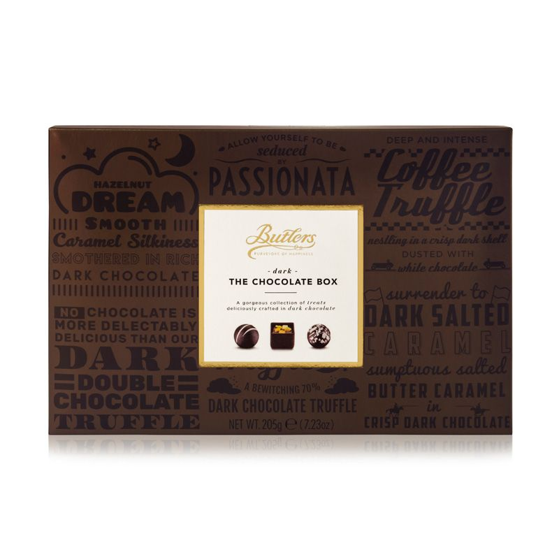 BUTLERS DARK THE CHOCOLATE BOX (205G)-0
