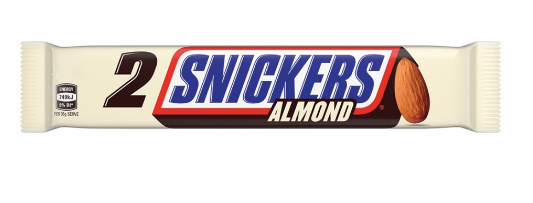 Snickers Almond 2 Bars (91g)-0