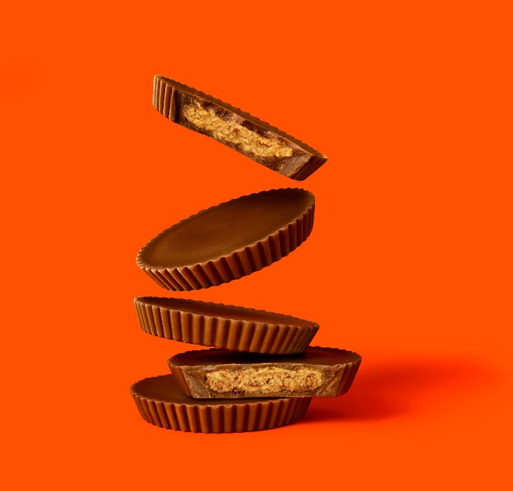 REESE'S THINS MILK CHOCOLATE PEANUT BUTTER CUPS Share Pack (208g)-9903