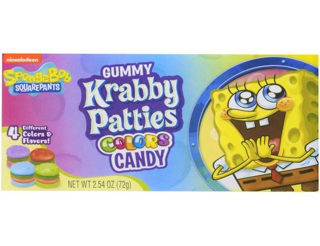 Gummy Krabby Patties Colors Candy (72g)-0