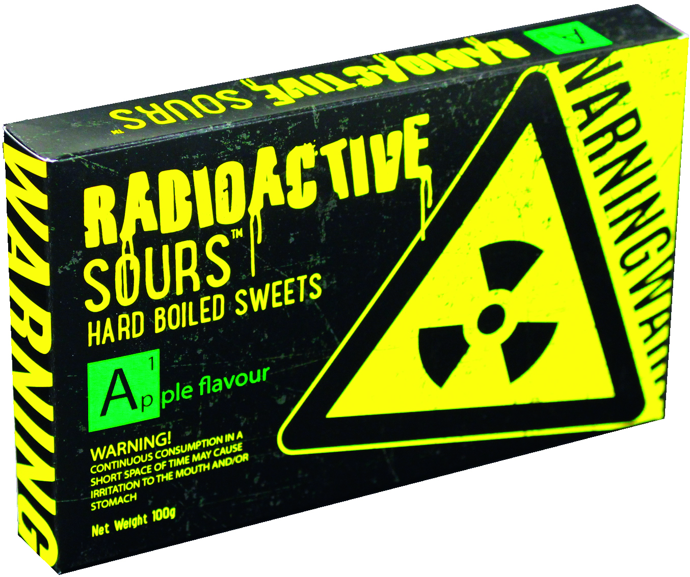 Radioactive Sours Apple Flavour (100g)-0