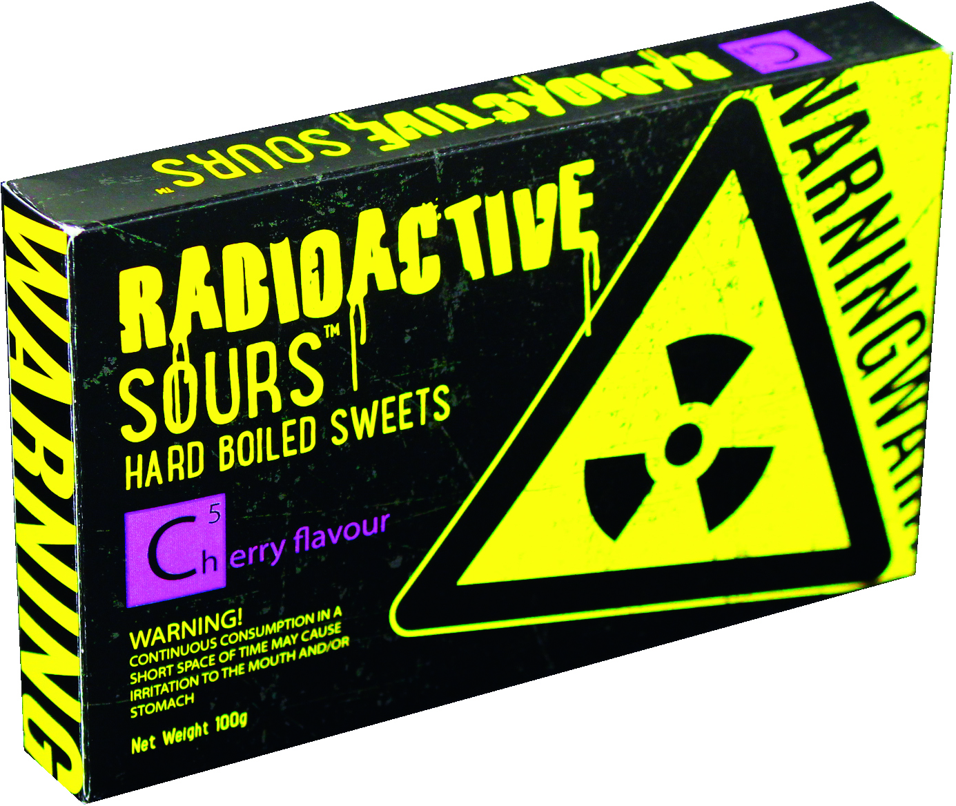 Radioactive Sours Cherry Flavour (100g)-0