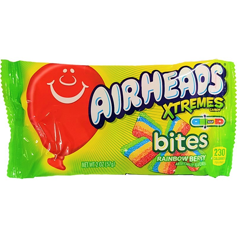 Airheads Xtremes rainbow berry bites (57g)-0