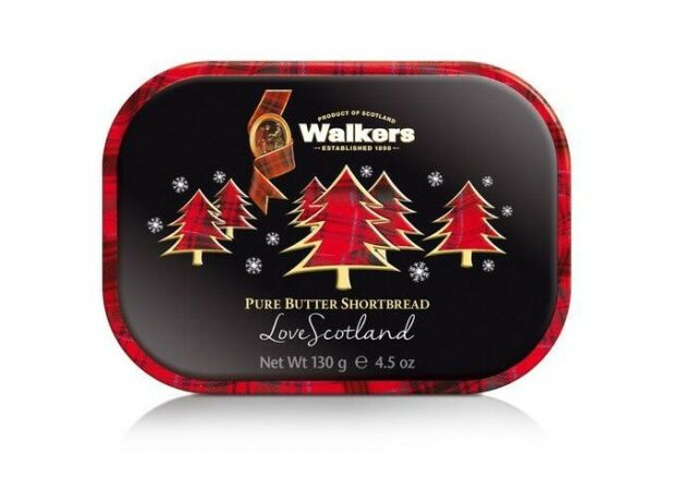 Walkers  Christmas Tree Keepsake Tin